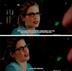 Felicity I Love the Internet